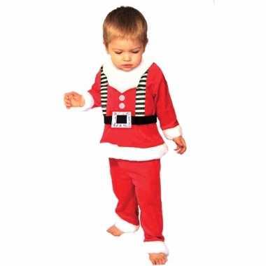 3 delig kerstmannen kleding voor peuters