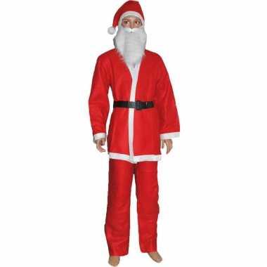 Budget kerstman verkleed kleding voor kinderen