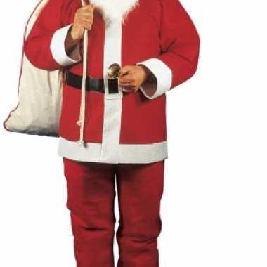 Compleet kerstman kleding voor heren