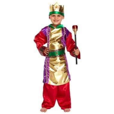 Drie koningen kerstkleding kleding voor jongens