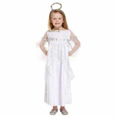 Engel kerstkleding kleding wit voor meisjes