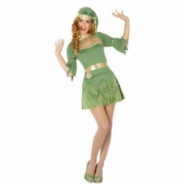 Kerst groen elfen kleding