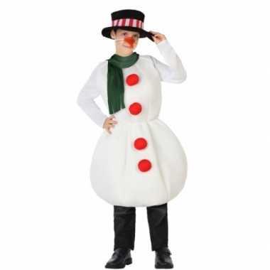 Kerst sneeuwpop kleding voor kinderen