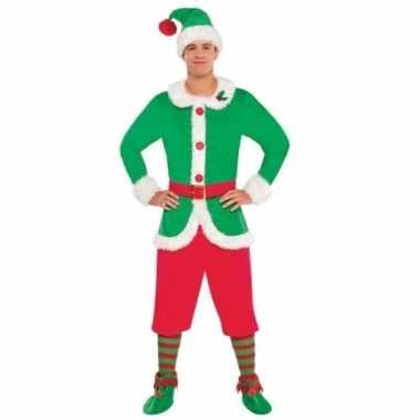 Kerstelf kleding voor heren 10076800