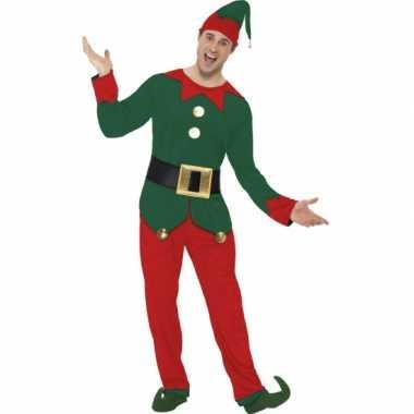 Kerstelf kleding voor heren