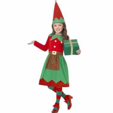 Kerstelf kleding voor kinderen
