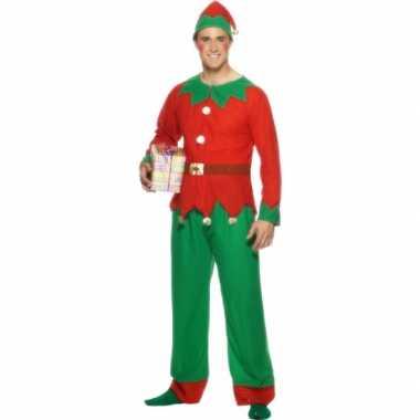 Kerstelf kleding voor mannen