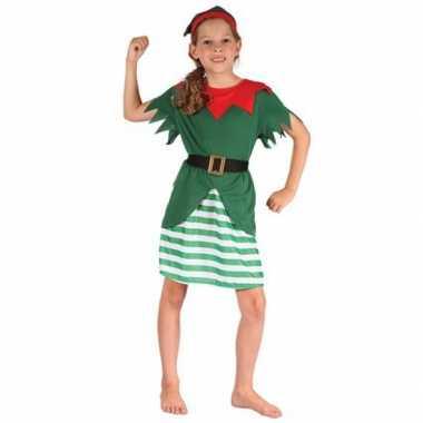 Kerstelf kleding voor meisjes
