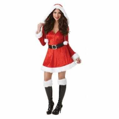 Kerstkleding met capuchon