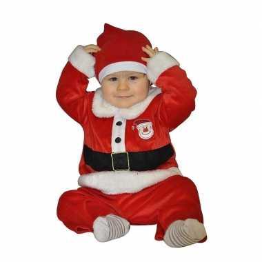 Kerstman baby kleding 12 24 maanden