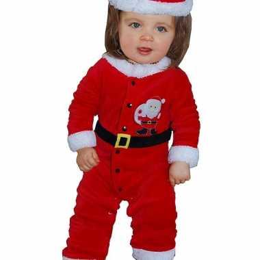 Kerstman baby kleding 3 12 maanden