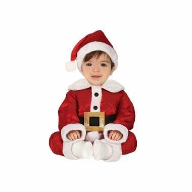 Kerstman baby verkleed kleding 3 delig