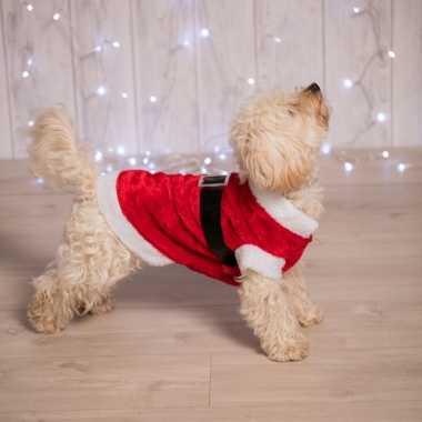 Kerstman kleding voor de hond