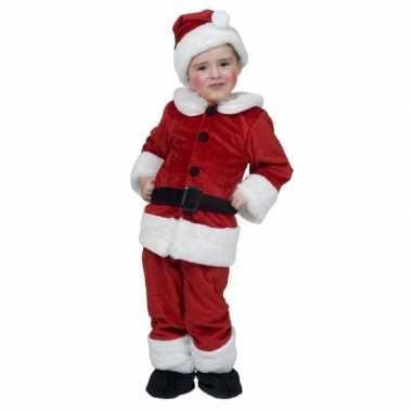 Kerstman kleding voor peuters