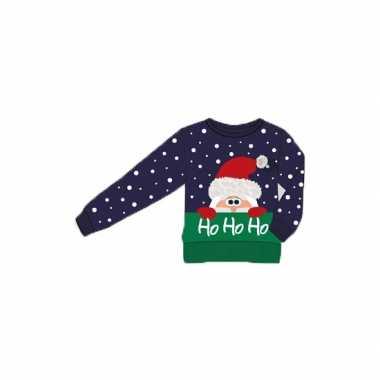 Kersttrui Poes.Kersttrui Ho Ho Ho Voor Kinderen Kerstkleding Kopen Nl