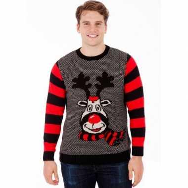 25e0edde1cb7c5 Kersttrui rudy reindeer voor heren