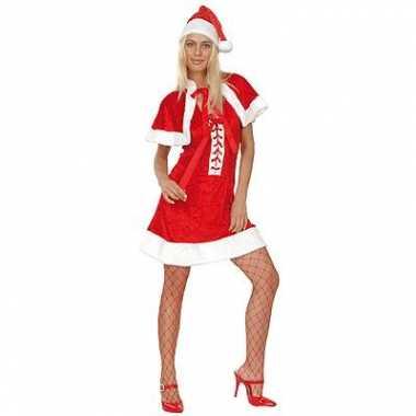 Kerstvrouw kleding mooie