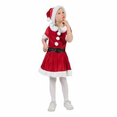 Kerstvrouw verkleed kleding voor meisjes