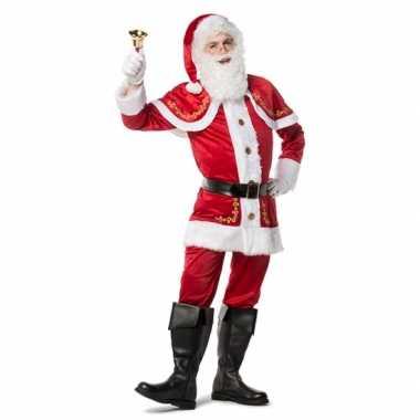 Mooie kerstman kleding voor heren