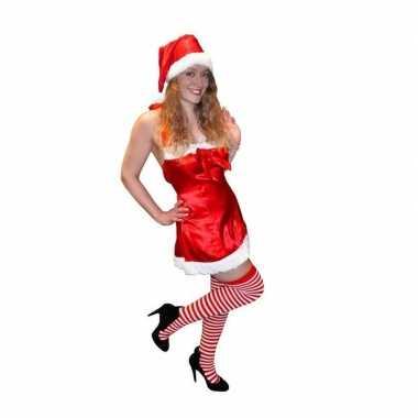 Pin up kerstkleding voor dames