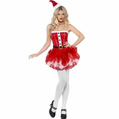 Rood tutu kerstkleding voor dames