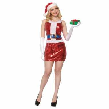Sexy kerstkleding met pailletten voor dames