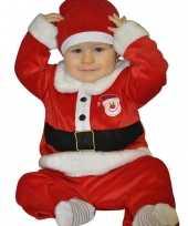 Kerstman baby kleding